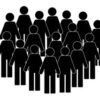 illustration-crowd-people-icon-silhouettes-260nw-631918142